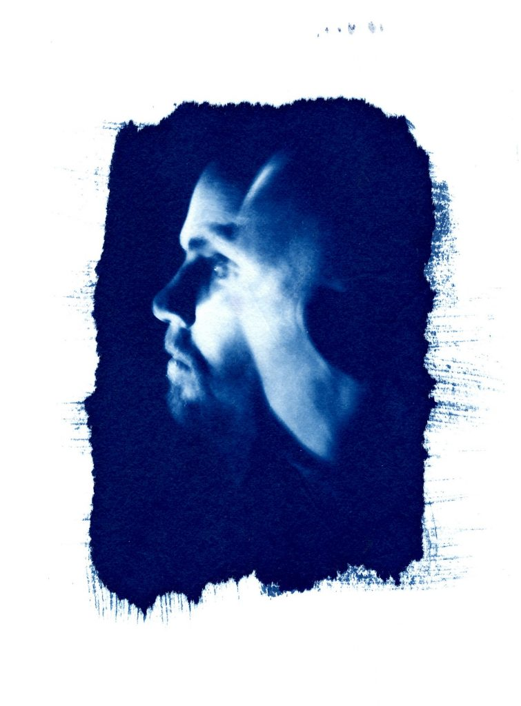alternative photographic process/ cyanotype print/ art print/